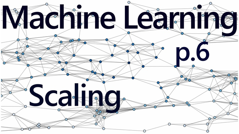 Pickling and Scaling - Practical Machine Learning Tutorial with Python p.6