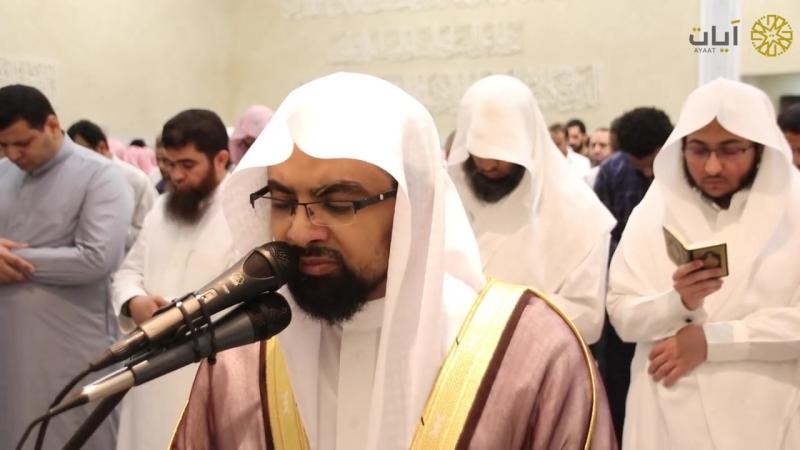 الله يريد التوبة لعباده - ترتيل محبر | الليلة الخامسة من رمضان 1439 للشيخ ناصر القطامي