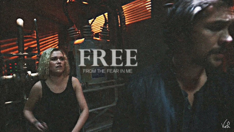 Bellamy Clarke | you said youd protect her [5x09]