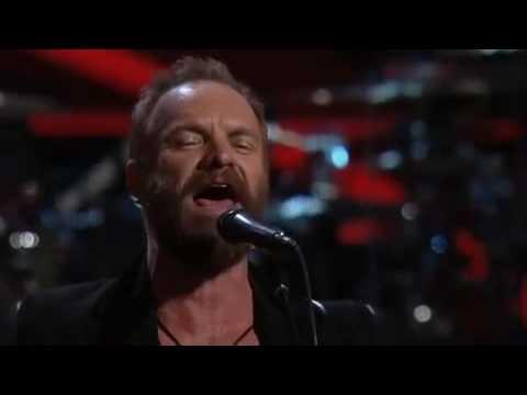 Stevie Wonder Sting - Higher Ground and Roxanne (Live)