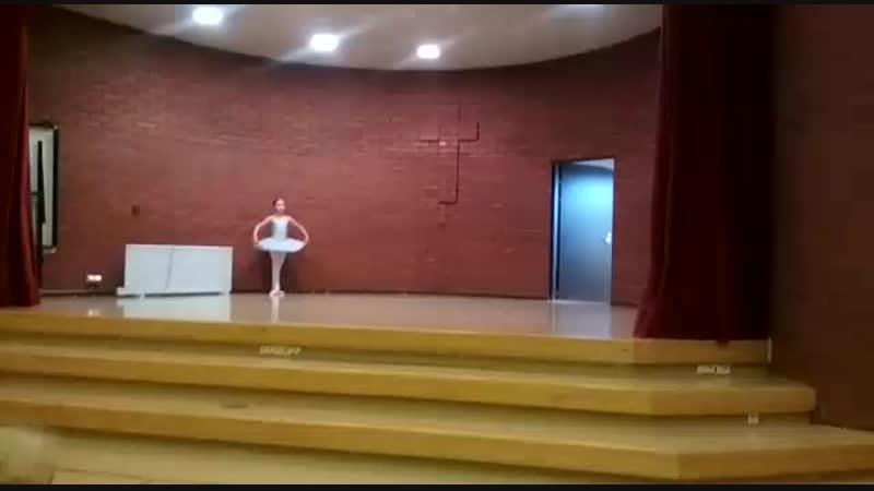 Маленькая балерина, г. Котка, 2018
