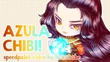 Chibi Azula   Full Process from Scratch!   Speedpaint by Nukababe [Patreon Learning Pack #25]