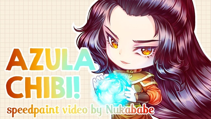 Chibi Azula | Full Process from Scratch! | Speedpaint by Nukababe [Patreon Learning Pack 25]