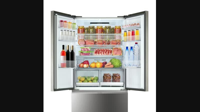 Общий объем холодильника Haier — больше 500 литров!