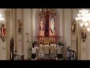 «Gloria» на пасхальном бдении в оратории Святой Девы Марии, Уосо