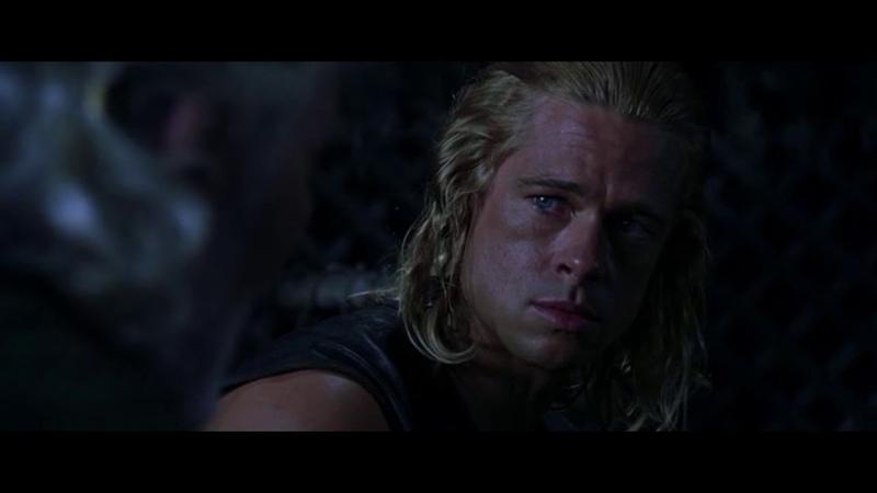 Троя Troy 2004 Ахиллес и Приам