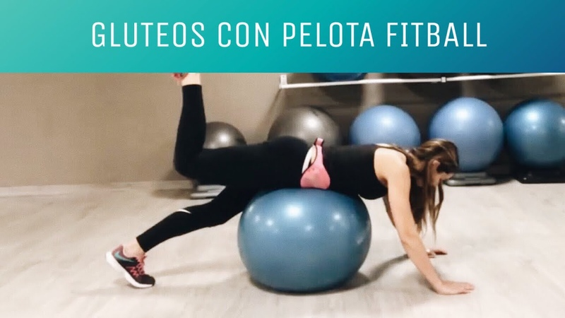 Monica Fitness Fitball glute