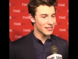 Shawn at the 2018 TIME 100 Gala in NYC