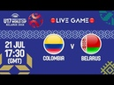 LIVE 🔴- Colombia v Belarus - FIBA U17 Women's Basketball World Cup 2018
