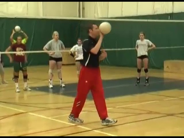 Brian Begor Volleyball Defensive Sequence