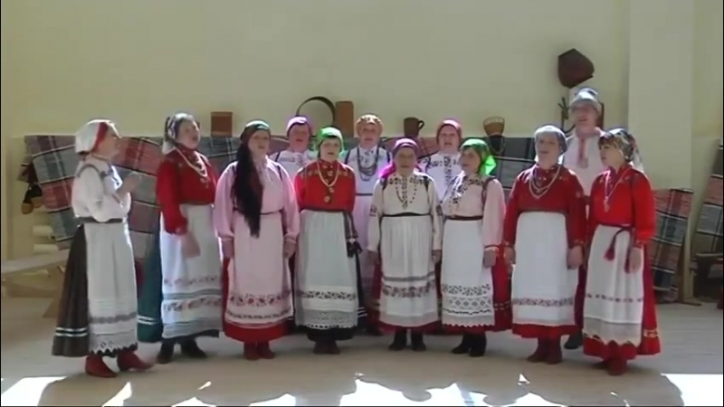 Коми-пермяцкие танцы. Ансамбль Мича асыв Б-Коча