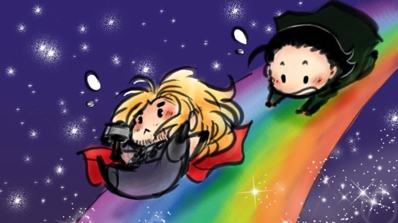 Funny Thorki Comics To Make You Laugh   Thor And Loki Special - PART 5