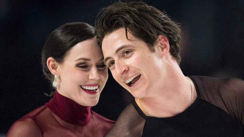 Scott Moir says 'everybody should have a Tessa'