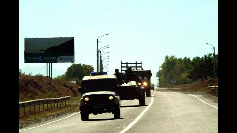 Россия в шаге от вoйны на Кaвказе: в Ингушетию движется колонна воeнной техники...
