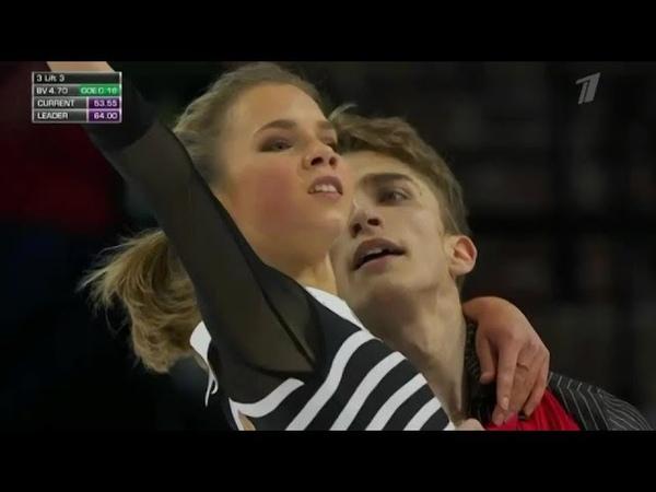 Алиса Ефимова/Александр Коровин, ПП, Skate America 2018