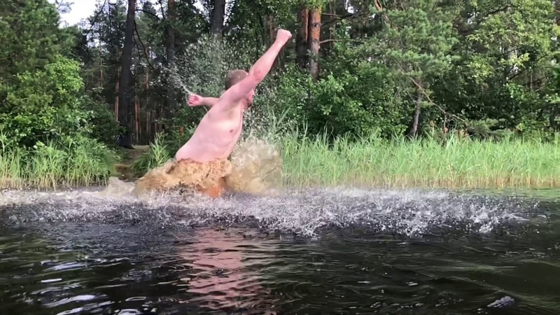 Поездка 53 км по лесу на велосипеде Fatbike in the Russian deap forest 53 km