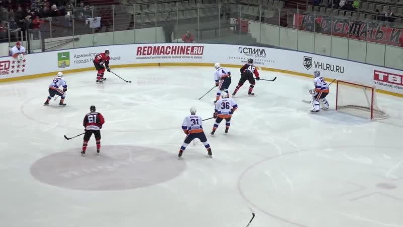 Металлург Новокузнецк - СКА-Нева Санкт-Петербург. ВХЛ. Регулярный чемпионат. 24.11.2018