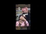 Mami does Tomomi's hair (part 2)