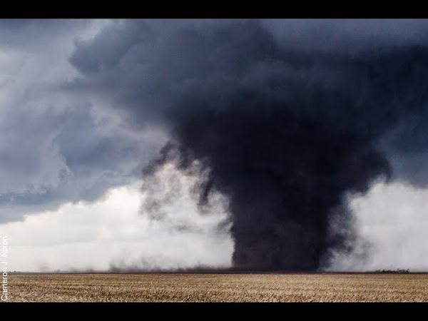 Южная Африка Свазиленд Торнадо Кадр Дня