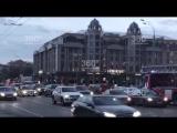 Эвакуация в ТЦ «Новинский»