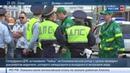Новости на Россия 24 Шляпа подтяжки прокурорская Чайка голливудский блокбастер на московских улицах