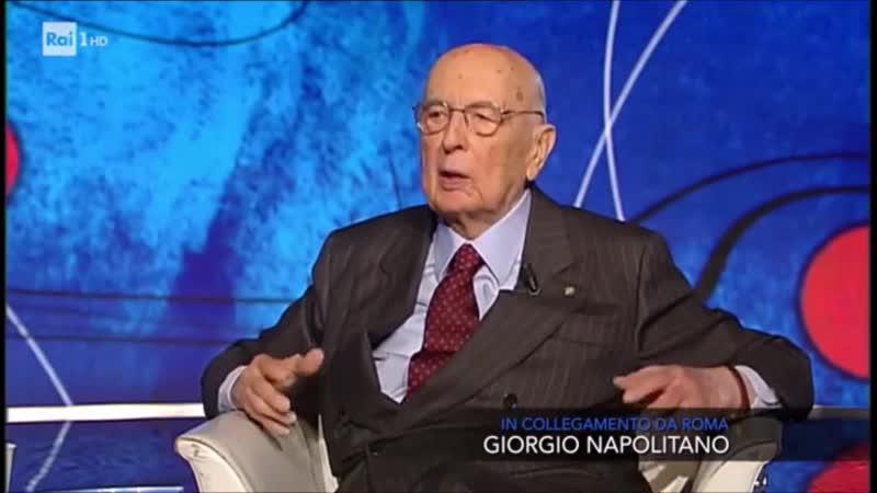 Napolitano contro la Costituzione Italiana: