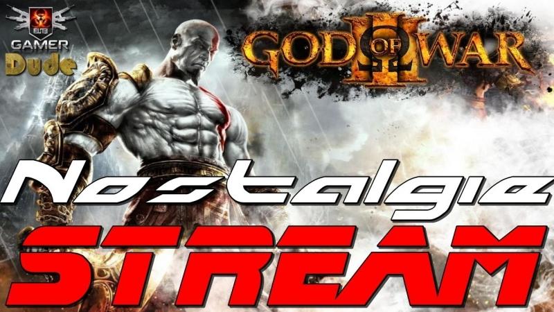 God of War 3: Remastered Стрим Ностальгия на Русском