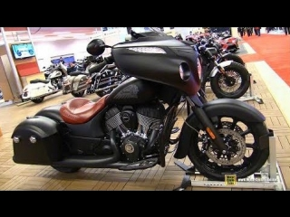 2018 indian chieftain dark horse - walkaround - 2018 montreal motorcycle show