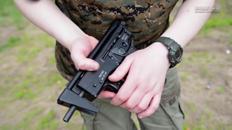 Обзор пневматических пистолетов-пулеметов Тирэкс ППА-К и Тирэкс ППА-К-01.mp4