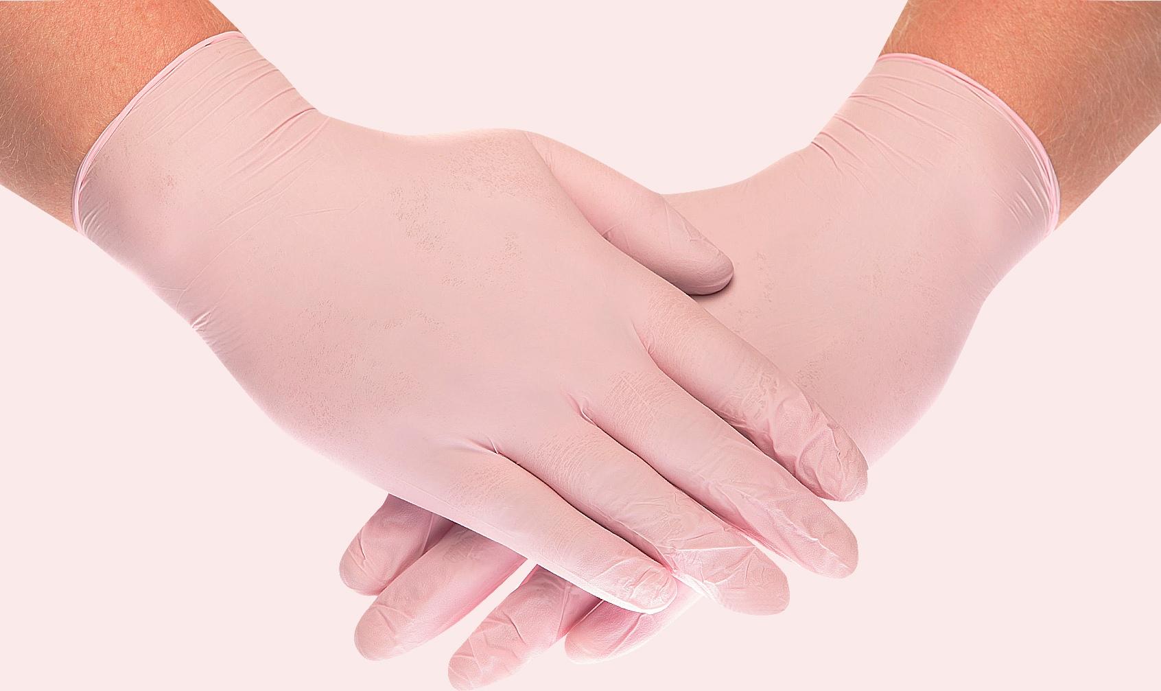 Нитриловые медицинские перчатки