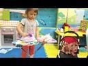 София как МАМА гладит вещи Кукле БЕБИ БОН готовит еду и играет на детской площадке Видео для детей