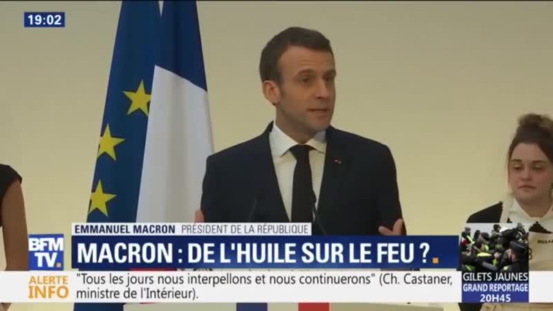 Emmanuel Macron - trop de nos concitoyens pensent quon peut obtenir sans quun effort soit apporté