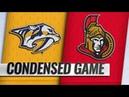Nashville Predators vs Ottawa Senators Dec 17 2018