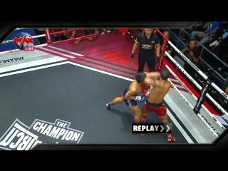 """Обоюдный """"Аццкий Локоть"""": выстоял только один. Max Muay Thai."""