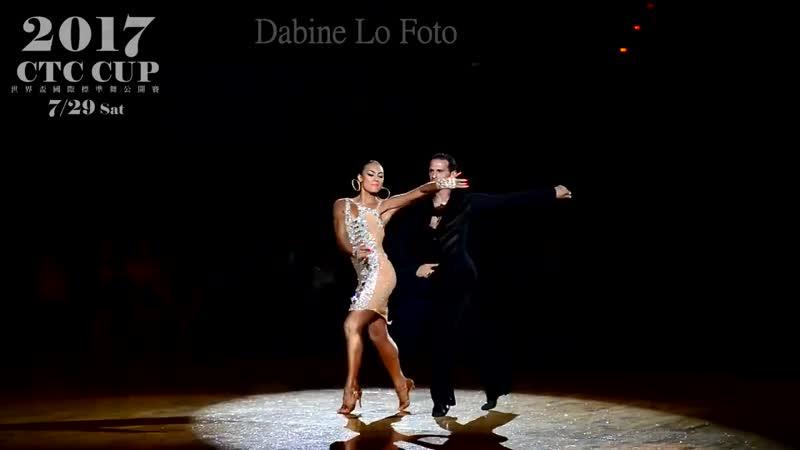 Salvators Sinardi Viktoriya Kharchenko Cha cha Honorary Dance 2017 WDC World G