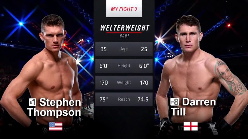 STEPHEN THOMPSON VS DARREN TILL HIGHLIGHTS
