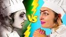 Вкусняшки на Хэллоуин против обычной еды Челлендж 8 идей