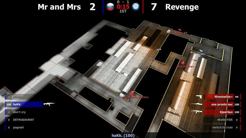 Revenge -VS- Mr and Mrs map 2