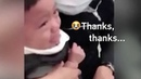 'Ouch thanks' Polite one year old thanks nurse through tearful vaccination