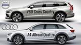 2019 Volvo V60 Cross Country vs Audi A4 Allroad Quattro