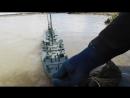 [Мир моих Танков] титаник из пластилина жуткий шторм для кораблика