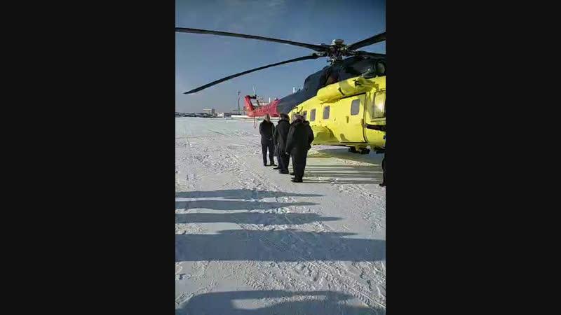Первый полет нового вертолета Ми 171А2