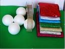 DIY BOLAS DE NAVIDAD CON MUCHO BRILLO | MAKE BRIGHT CHRISTMAS BALLS | Tutorial