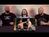 The Club watch AJ Styles beat up John Cena WWE Playback