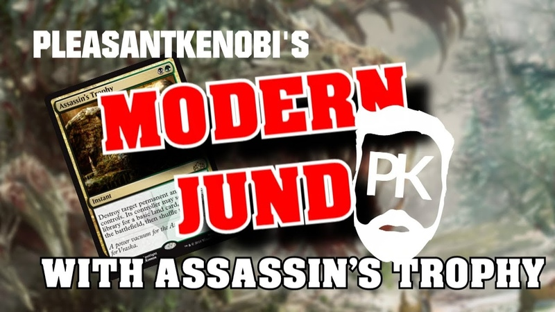 Modern Jund - with Assassin's Trophy - Deck Tech, Gameplay and History