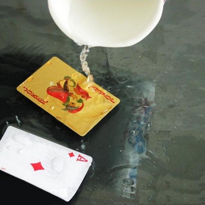 Игральные карты из пластика 366