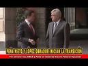 Por tercera vez AMLO y Peña se reunirán hoy en Palacio Nacional