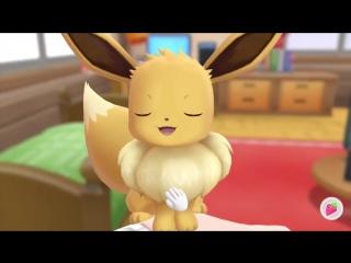 Eevee в Pokemon Let's Go Pikachu and Eevee