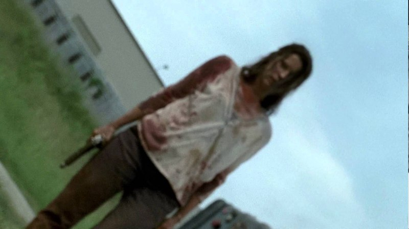 Lilly Finishes The Governor - The Walking Dead (720p - Clean Image)(DVD)
