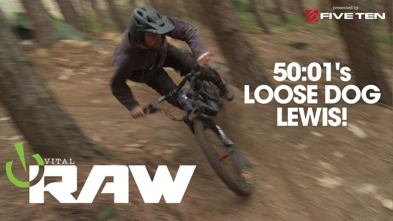 HYPERSPEED TURN CLINIC! Vital RAW with 50to01's Loose Dog Lewis